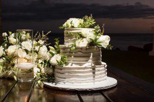 Featured Maui Weddings - Alexandra and Robert - Wedding Cake