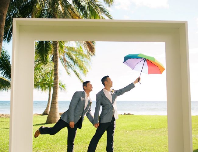 Terry and Kevin's Wedding at Olowalu graphic