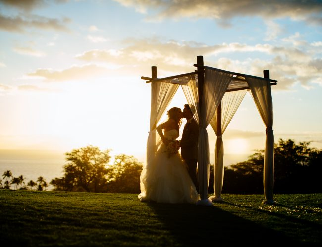 "Kyle & Krista ""Sentimental Sunsets"" Wedding at Wailea graphic"